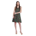 Womens Accessories Cotton Printed Dress,Machine Washable,W-CPD32-1627