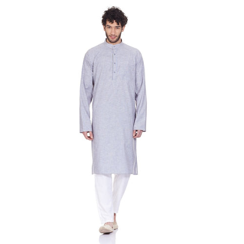 Comfortable Kurta Pajama Set For Men Traditional Wear Indian Anniversary Gifts