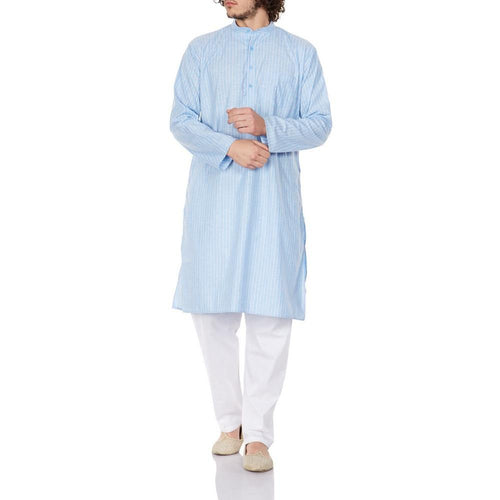 Traditional Fashion Comfortable Kurta Pajama Set For Men,Indian Clothes Gifts For Him 42 Inches