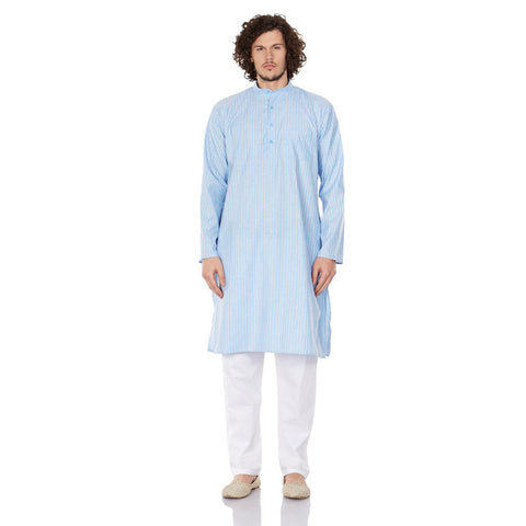 Traditional Fashion Comfortable Kurta Pajama Set For Men,Indian Clothes Gifts For Him
