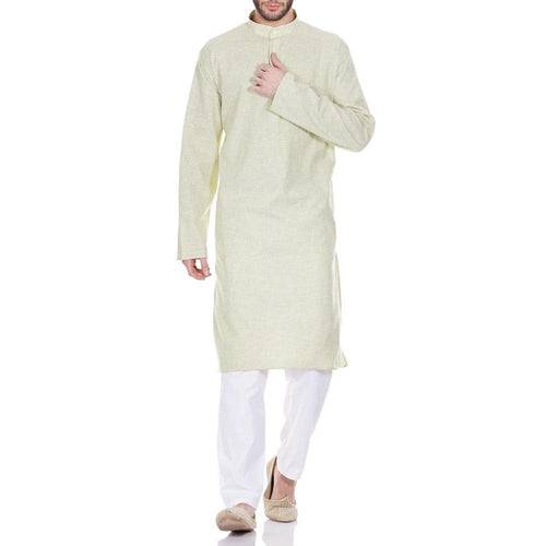 Comfortable Kurta Pajama Set For Men,Traditional Indian Wear Gifts 42 Inches