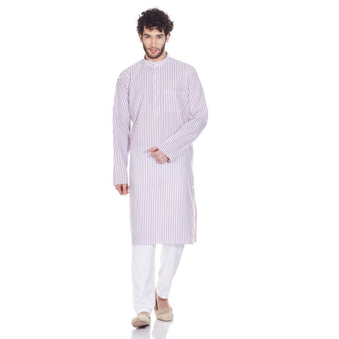 Men Clothing Indian Kurta Pajama Set Comfort Fit Gifts For Him