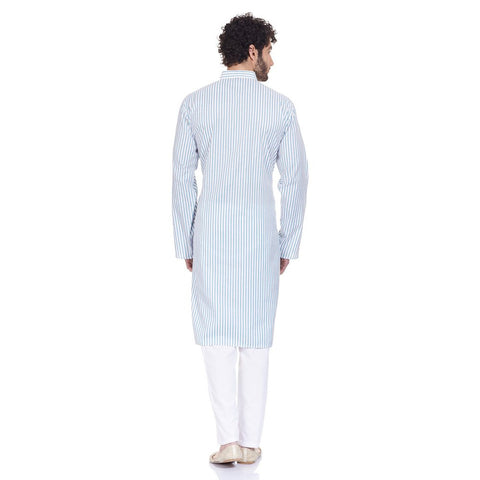 Traditional Indian Dress Comfortable Kurta Pajama Set Gifts For Husband