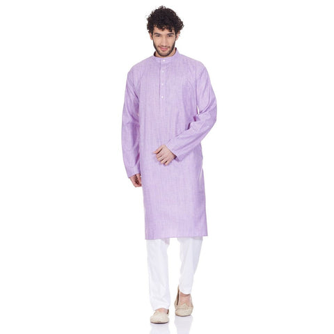 Traditional Indian Clothes Comfortable Kurta Pajama Set  For Men Christmas Gifts