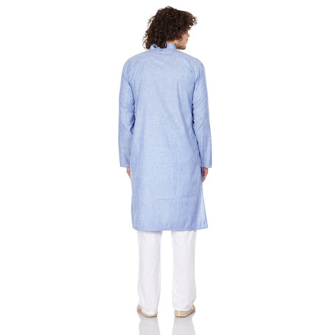 Men Costume Indian Kurta Pajama Set Relaxed Fit Birthday Gifts