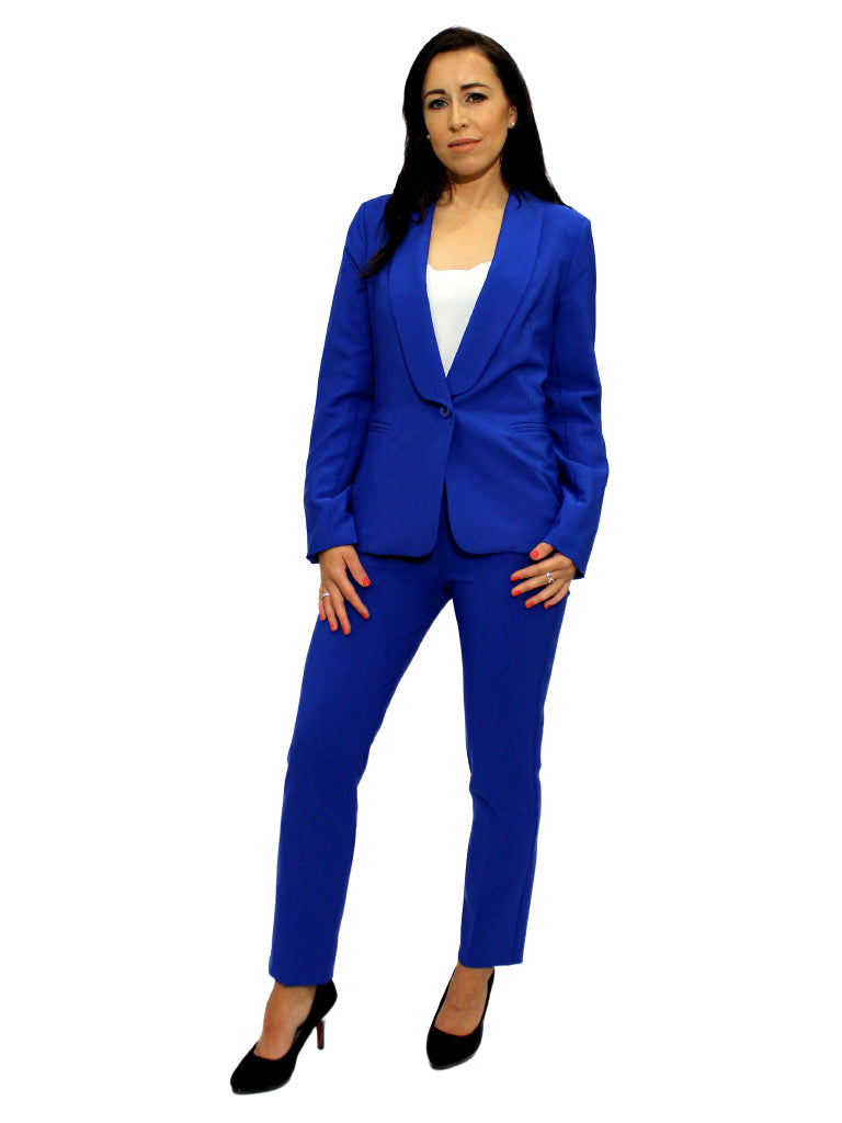 Royal blue blazer