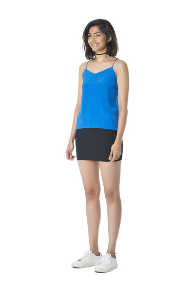 Essential Cami Top – Electric Blue