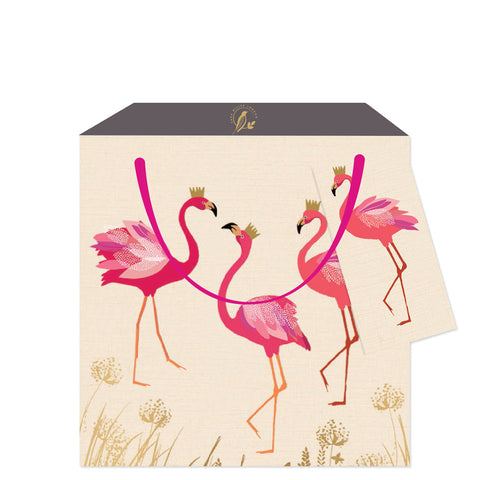 Sara Miller Flamingo Medium Bag