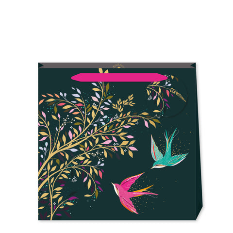 Sara Miller Green Hummingbird Medium Bag