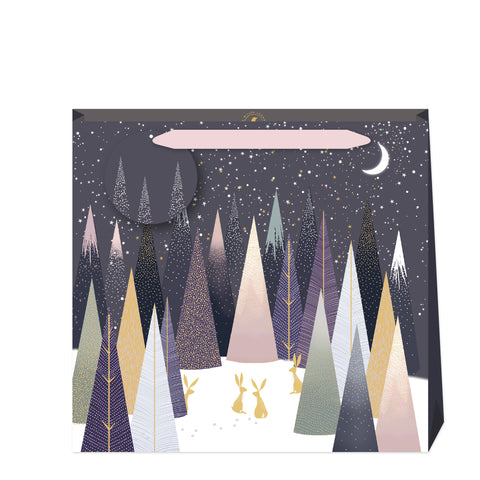Sara Miller Frosted Pines Large Bag