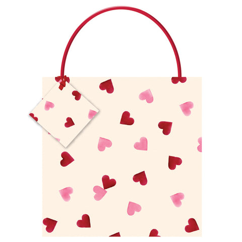 Emma Bridgewater Pink Hearts Medium Bag