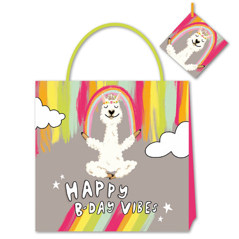 Happy News Happy Birthday Vibes Small Bag