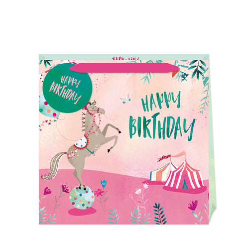 Jack & Lily Circus Birthday Large Bag