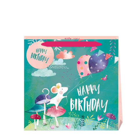 Jack & Lily Mouse Birthday Medium Bag
