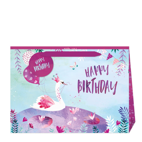 Jack & Lily Birthday Swan Shopper Bag