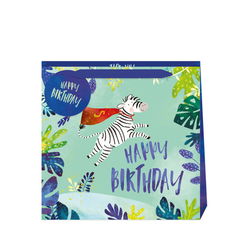 Jack & Lily Zebra Birthday Medium Bag