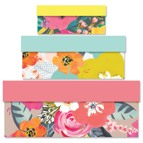 Floral Designs Nest of Boxes