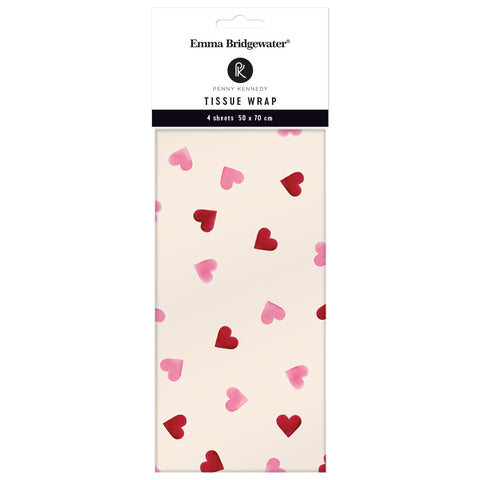 Emma Bridgewater New Hearts Tissue