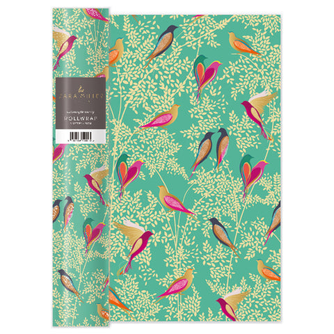 Sara Miller Birds Roll Wrap