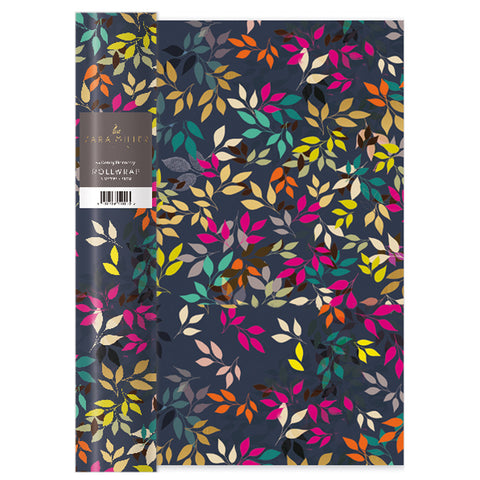 Sara Miller Multi Leaves Roll Wrap