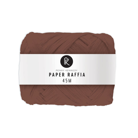 Basics Chocolate Raffia