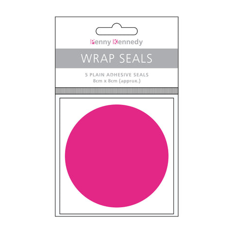 Shocking Pink Wrap Seals