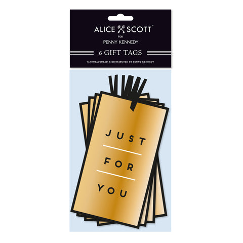 Alice Scott Just for You Tags