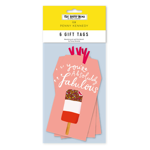 Happy News Absolutely Fabulous Tag Pack