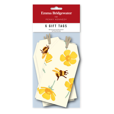 Emma Bridgewater Buttercups & Bees Tag Pack