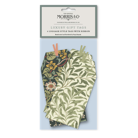 Morris & Co Willow / Blackthorn Tag Pack