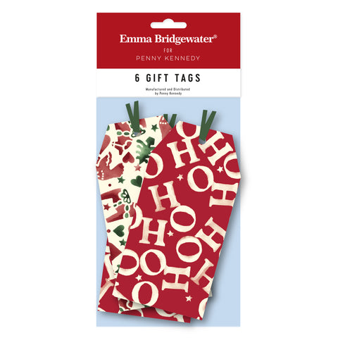 Emma Bridgewater Christmas Joy tags