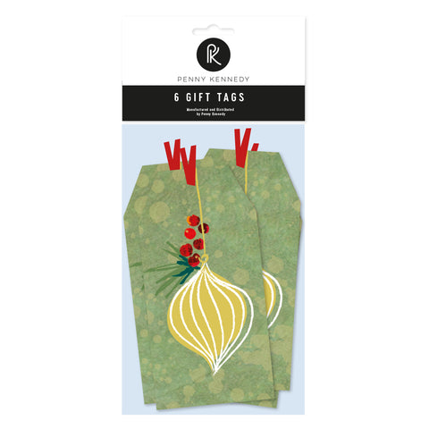 Penny Kennedy Design Festive Garland tags