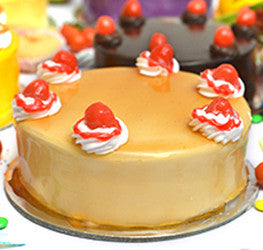 Mango Fresh Cream Cake