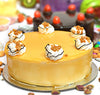 Butterscotch Fresh Cream Cake