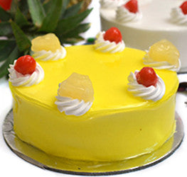 Pineapple Fresh Cream Cake