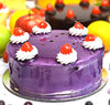 Blueberry Fresh Cream Cake