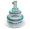 Kids Cakes- First Birthday Cakes- Wb1087