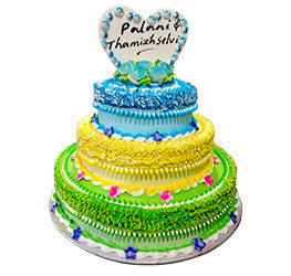 Wedding Cakes- Tier Cakes- Wb-1083