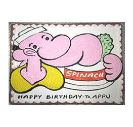 Birthday Cakes- Characters- Wb-07