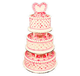 Wedding Dummy cakes- Wb-1128