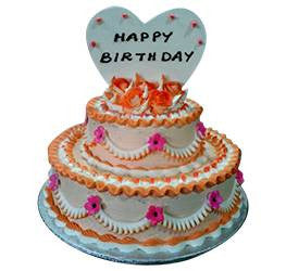 Birthday Cakes- Step Cake- Wb1013