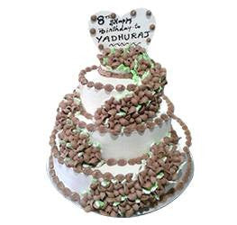 Birthday Cakes- Step Cake- Wb1036