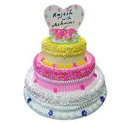 Birthday Cakes- Step Cake- Wb1082