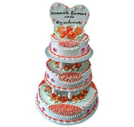 Wedding Cakes- Butter Cream Special- Wb-1097