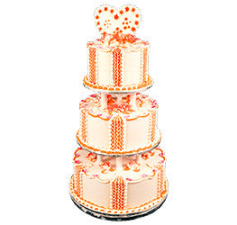 Wedding Dummy cakes- Wb-1125