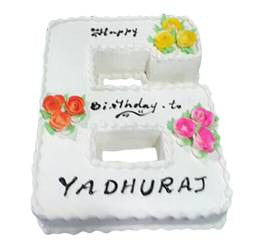 Birthday Cakes- Shape Design- Wb13002