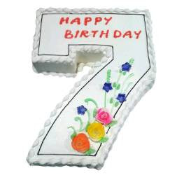Birthday Cakes- Shape Design- Wb13004