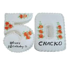 Birthday Cakes- Shape Design- Wb13008