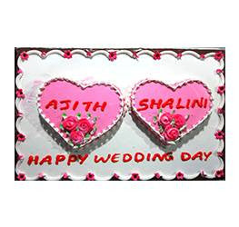 Wedding Cakes- Double figure Cakes- Wb-13086
