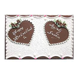 Birthday Cakes- Shape Design- Wb13087